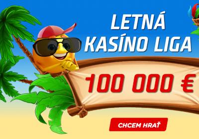 Kto si vybojuje ceny v Letnej casino lige?