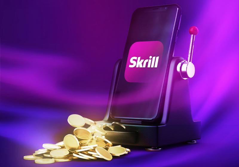 Platby v online kasíne cez Skrill