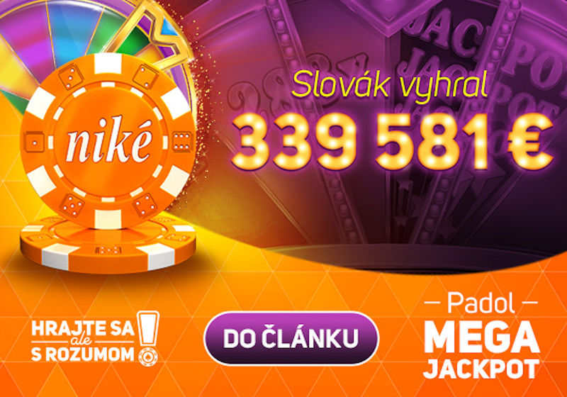 Po mesiaci pokorený Mega Jackpot 339 581 €!