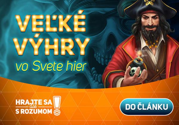 Vylúpil pirátske poklady, berie 113 370 €!